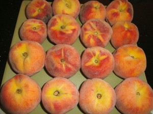Fresh peaches from Grant Family Farms