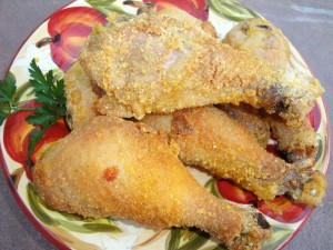 Gluten-Free Oven-Fried Chicken by Carol Fenster