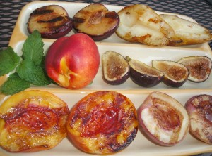 Grilled fruit is deliciously gluten-free.