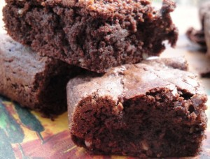 Carol Fenster's wickedly decadent, gluten-free Chocolate Brownies