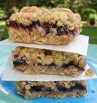 Carol Fenster's vegan oat bars use gluten-free oats and oat bran from Bob's Red Mill..