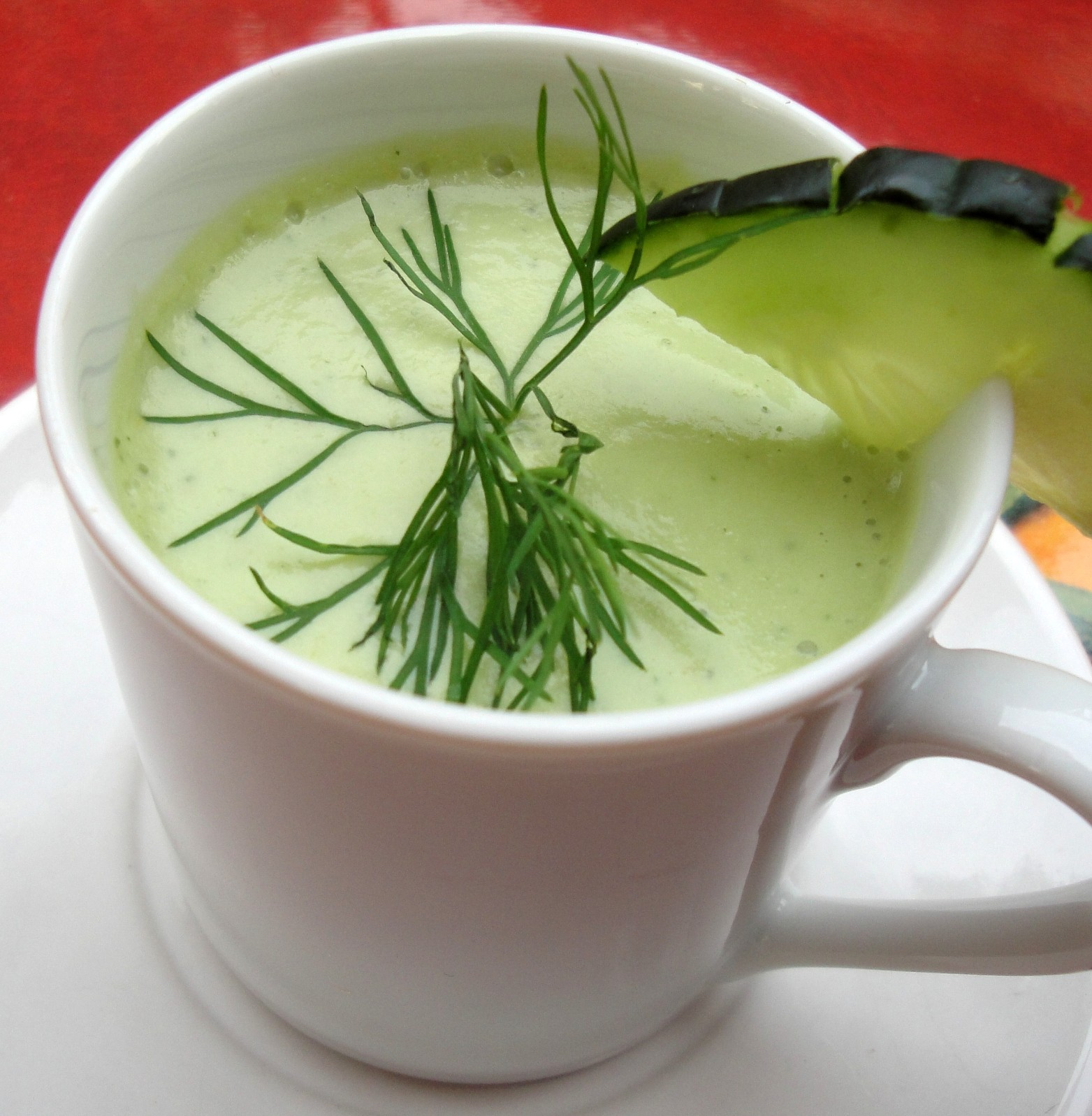 cold cucumber soup chilled cucumber soup this soup is many things cold ...