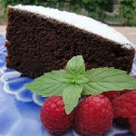 Chocolate Cake Made with Cocoa Powder