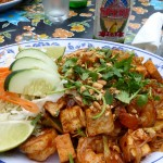 Thai food at Starfire in Skagway, Alaska