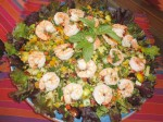 Shrimp Sorghum Salad