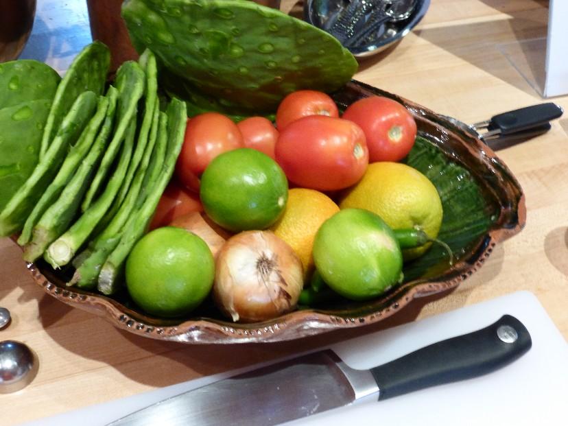 ... southwestern cactus salad recipes dishmaps southwestern cactus salad