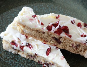 Cranberry Shortbread Bars from Carol Fenster