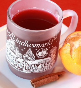 German Gluhwein (mulled wine)