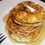 Whole Grain Breakfast Pancakes