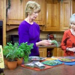 Discussing Herbs on Creative Living, PBS-TV