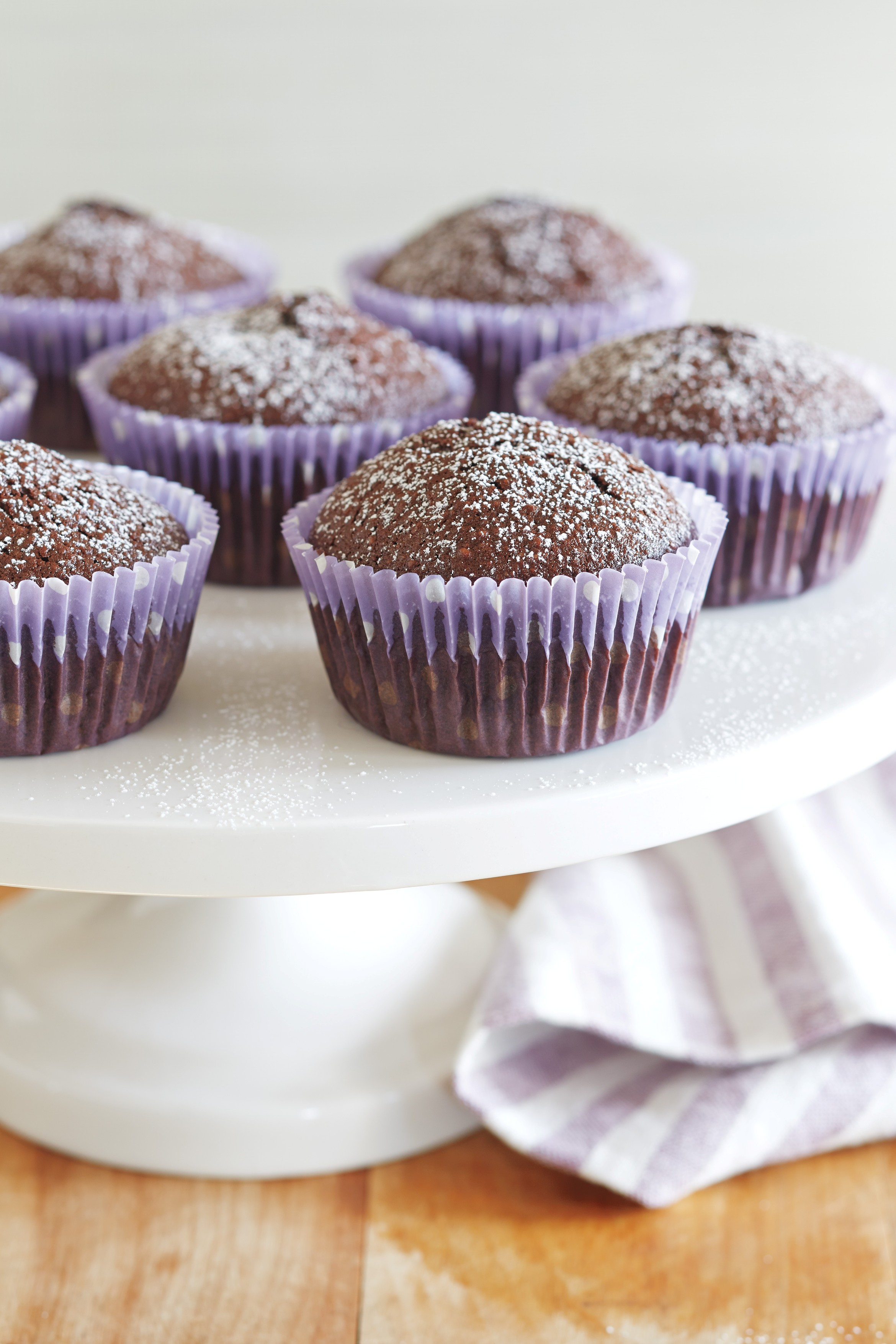 Flourless Chocolate Cupcakes from 100 Best Quick Gluten-Free Recipes