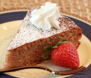 Grain-Free Walnut Honey Cake