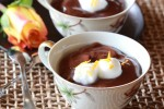 Chocolate-Orange Mousse for Two