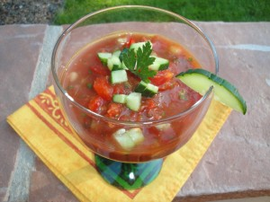 Quick and Easy Gazpacho