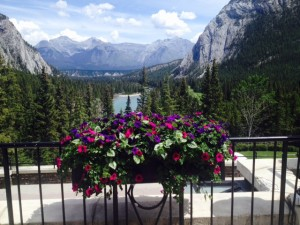 Gorgeous scenery in Banff, Alberta