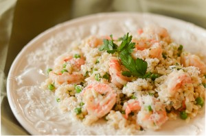 Shrimp Risotto (FODMAP-friendly)