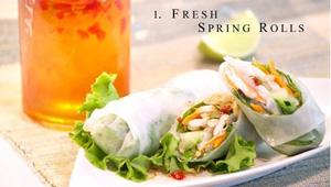 Aloy Modern Thai Fresh Spring Rolls