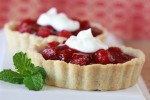 Raspberry Tart for Two