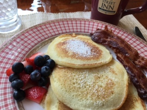 Pancakes at Gay Street Inn