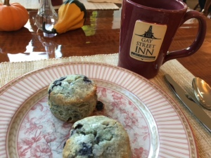 Scones at Gay Street Inn 2017