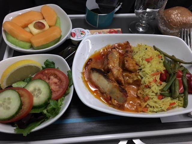 Air Canada GF meal