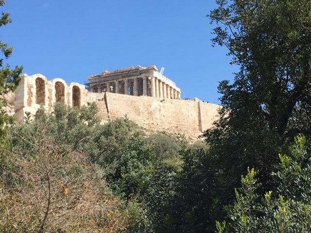 Acropolis from below