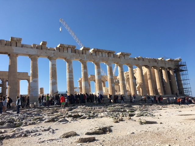Parthenon on Acropolis