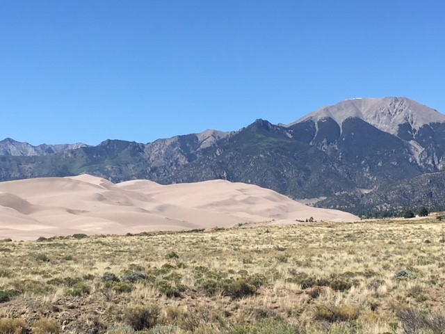 Great Sand Dunes near Alamosa, CO