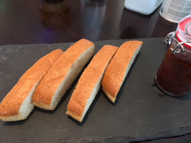 GF Bread at Hilton Athens