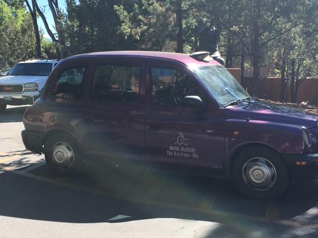 London Cab Hotel Santa Fe