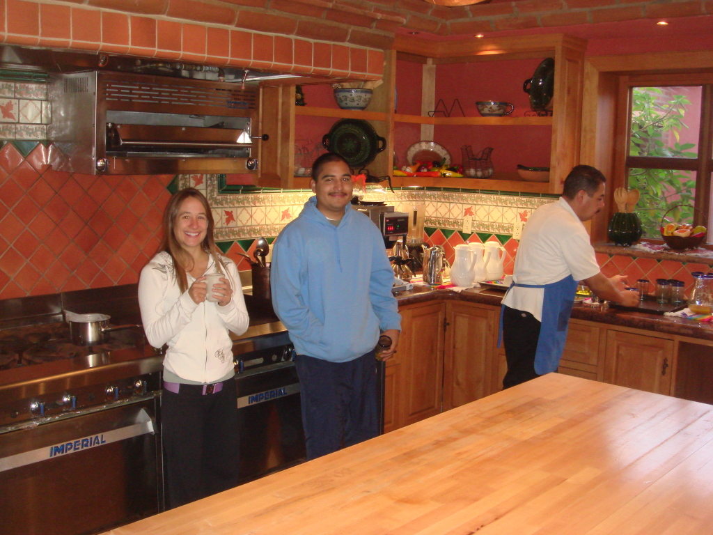 Kitchen at La Cucina Que Canta at The Ranch