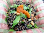 Gluten-Free Wild Rice Salad is nutritious, colorful, and delicious.