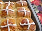 Gluten-Free Hot Cross Buns from Carol Fenster